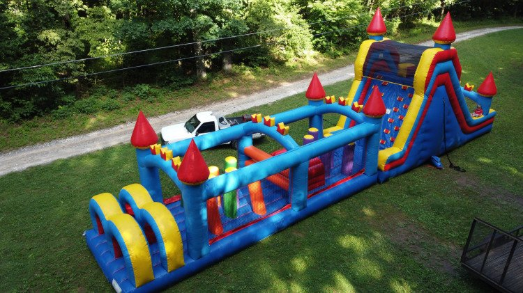 Castle Combo 60' Obstacle Course