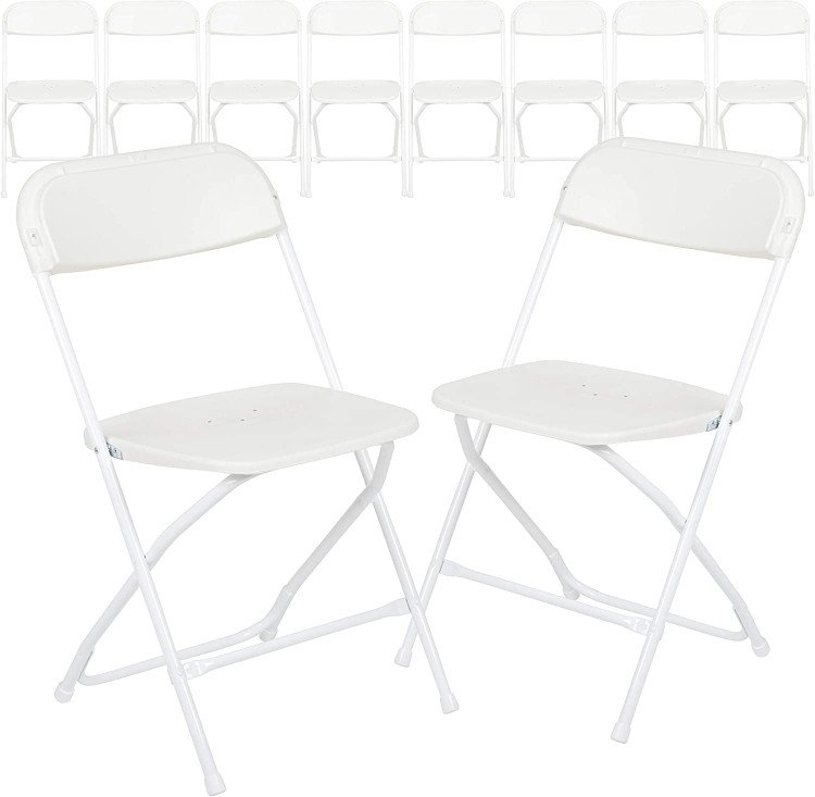 Folding Chair - White